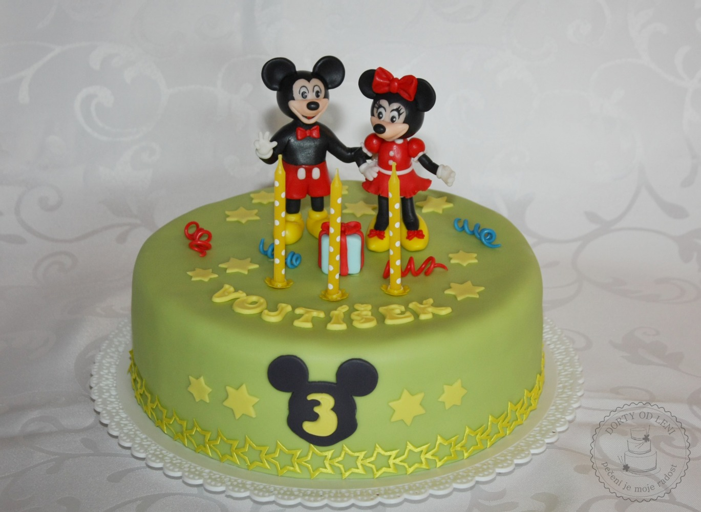 Mickey a Minnie mouse